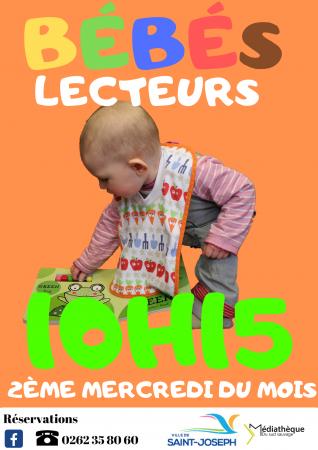 Bébés Lecteurs - 2ème mercredi du mois