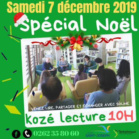 Kozé-Lecture (tous les 1er samedi du mois)