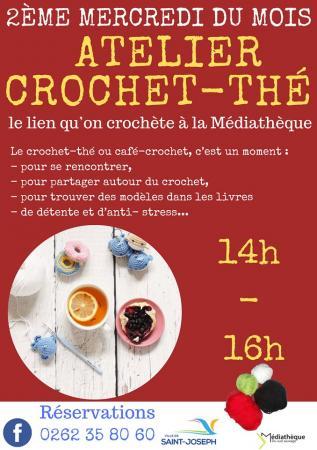 Atelier Crochet-Thé - 2ème mercredi du mois