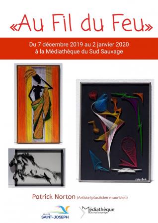 EXPOSITION - Du 7 décembre 2019 au 2 janvier 2020 - Patrick Norton