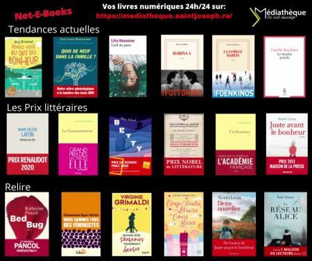 Net-E-Books - Sélection du mois de mars 2021