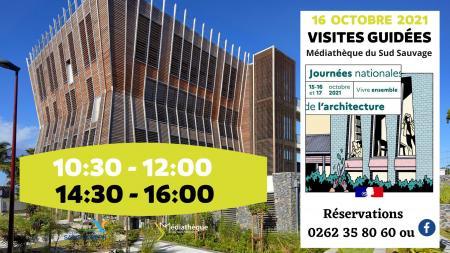 Journées nationales de l'architecture : Visites guidées de la Médiathèque le samedi 16 octobre 2021