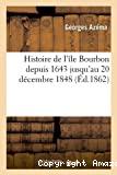 Histoire de l'île Bourbon