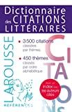 Dictionnaire des citations littéraires