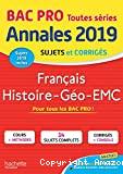 Français, histoire géo, EMC, bac pro toutes séries