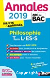 Philosophie Term L-ES-S