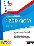 1 200 QCM pour réussir l'écrit et l'oral concours 2019-2020 (Catégorie C)