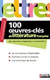 100 oeuvres-clés de littérature française