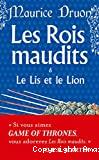 Le Lys et le lion (Les Rois maudits, Tome 6)