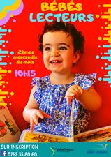 Bébés Lecteurs - Les deuxièmes mercredi de chaque mois